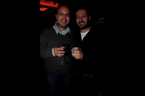 High Point's Elisar Cabrera and Bankside's Antonio Salas